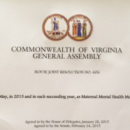 May Is Maternal Mental Health Month!